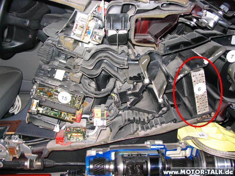 Zobacz Wątek A6 C4 Wymiana Nagrzewnicy Fotostory Audi
